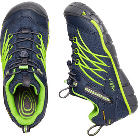 Keen Chandler CNX WP Scarpe Ragazzi, dress blues/greenery